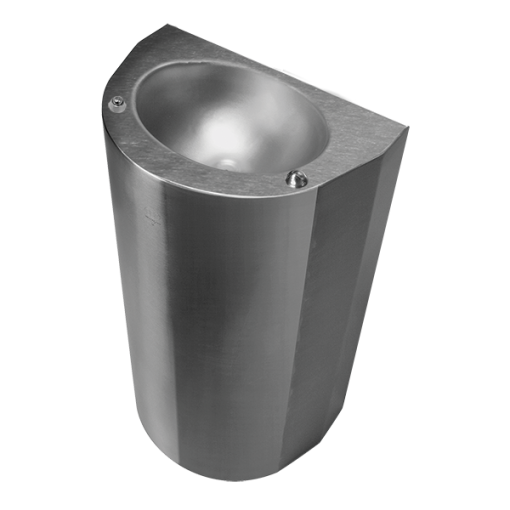 """The Willoughby ASDF-1013-06-FA Ligature-resistant, Front Access, 18"""" Handicap Water Fountain (Wall mount drinking fountain) is a single-user fixture."""