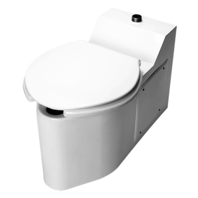 The BETWS-1490-FM-FA Stainless Steel Toilet has a bariatric toilet seat and is designed for healthcare environments.