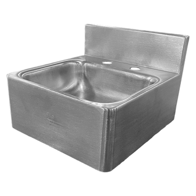Willoughby CES-912 Commercial Hand Sink Units are commercial stainless sink fixtures.