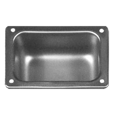 The Willoughby RSD line of Recessed Soap Dishes are 16 gauge, Type 30 stainless steel accessories, designed for a single bar of soap.