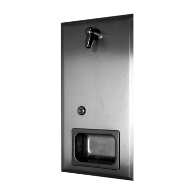 The Willoughby WRS Rear Mounted Stainless Steel Shower Panel.