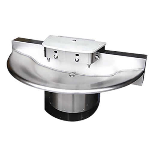 The WWF-5404 Washfountain is a vandal-resistant commercial hand sink.