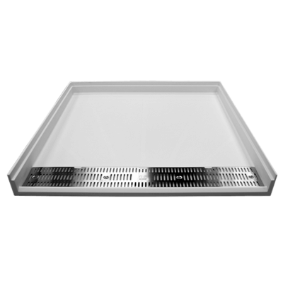 The Willoughby AS-S3636ADAF Aquasurf® Solid Surface 36x36 ADA-Compliant Transfer Shower Base (ADA Shower Pan).
