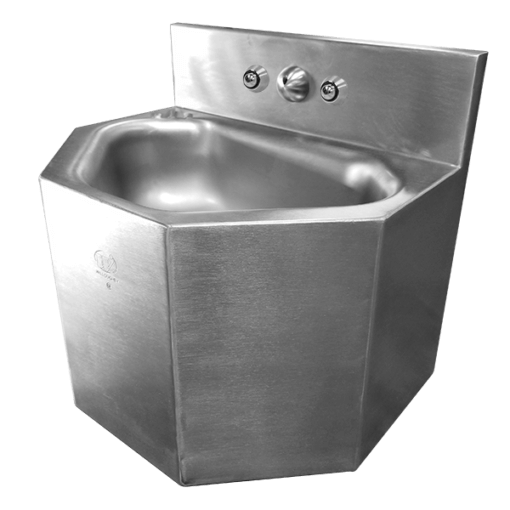 Stainless Steel Replacement 15″ Wide Rear Mounted Lavatory